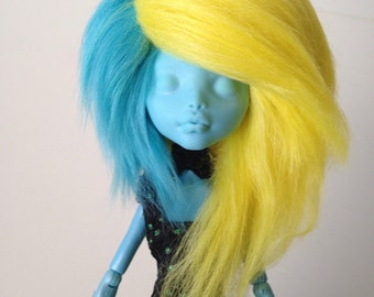 Monster High Edgy Fur Wig [Your Color Choice!] *SALE!*