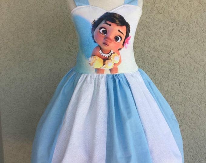 Baby Moana Poppy Dress