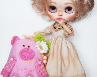 Plush pig toy, Piggy toy, Kawaii pig, Stuffed pig, Piglet toy, Pig softie, pig plushie, gift pig, love pig, hug me