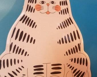 Cat shaped cutting board melamine
