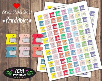 Mixer Printable Planner Stickers, Mixer Planner Stickers, Baking Stickers, Kitchen Mixer, Cute Stickers, Printable Stickers, Functional