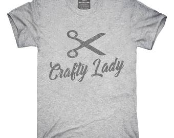 Crafty Lady T-Shirt, Hoodie, Tank Top, Gifts