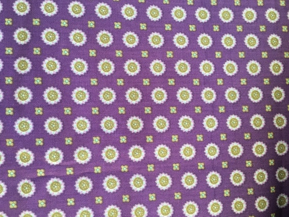 Paintbrush Studios Briarcliff Medalllions Purple 120-10251 3/4 Yard