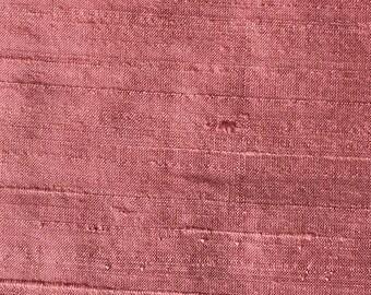 CARNELIAN  2103-2H  Pure Silk Dupioni Fabric - Handwoven