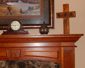 Rustic Barn Wood Cross - HANDMADE from 100 year old Reclaimed Barnwood - Unique Christian / Religious Cross