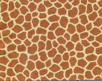 Jungle Babies Giraffe Skin Print by Patty Reed Designs, 100% Cotton Fabric by the Yard, Quilting, Apparel, Home Decor, Crafts, Nursery, Baby
