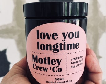 Love You Longtime Essential Oil Soy Candle