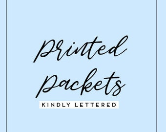 Printed Packets