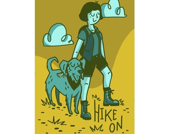 Hike On Sticker
