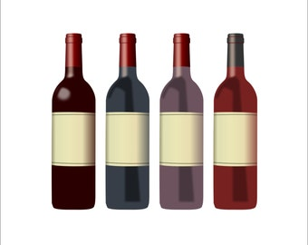 wine bottle clipart wine clipart bottle clipart wine rh etsy com bottle wine clipart wine bottle clipart png