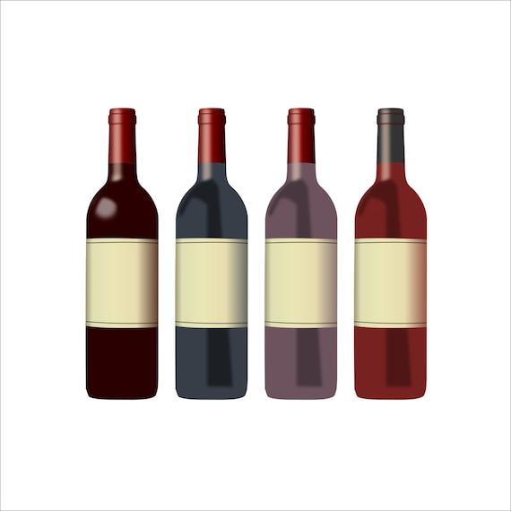 wine bottle clipart wine clipart bottle clipart wine rh etsy com clip art wine party clip art wine glass free