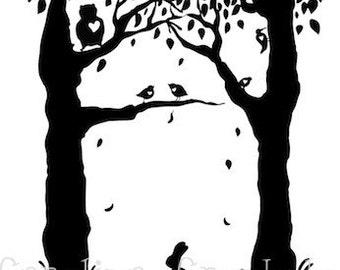 Animal hearts - 6x8 Print