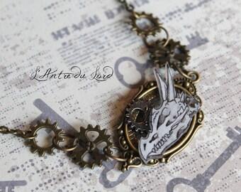 """Steampunk fantasy dragon """"Dragon's time"""" pin"""