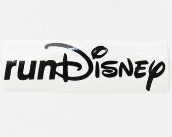 Vinyl Decal - runDisney Logo