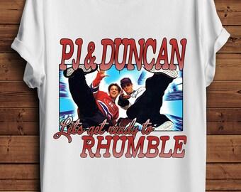 PJ & Duncan T Shirt 90s Vintage Style