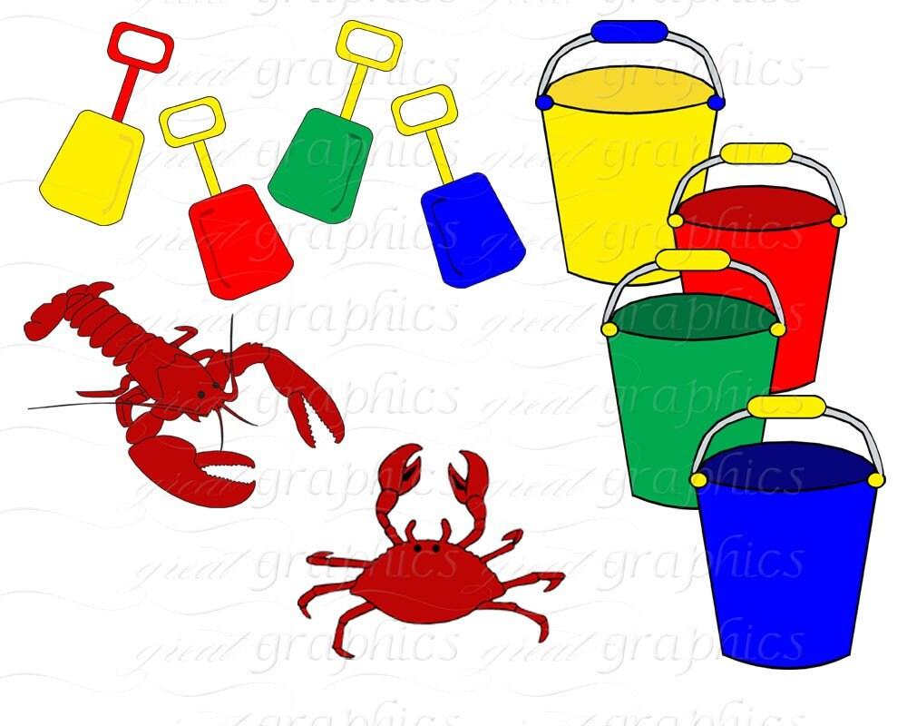 beach clip art beach clipart seashell beach umbrella beach chair rh etsystudio com beach party animated clipart beach party clipart free