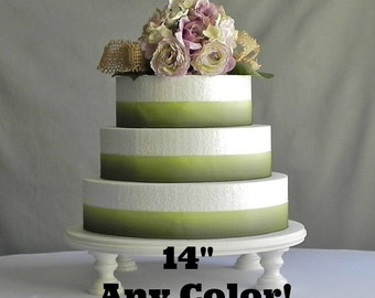 Cake Stand 16 Wedding Cake Stand White Cake Stand Grooms