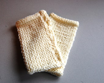 Classic Knit Handwarmers ~ Adult size
