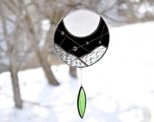 Moon suncatcher,Stained g...