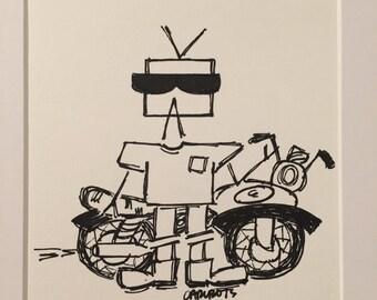 CarlBots Motorcycle
