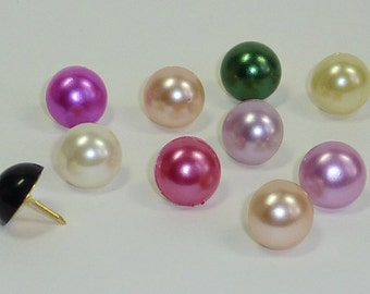 Decorative Pearl Push Pins, Pearl Drawing Pins, Cork Board Pins, Thumbtacks, Pin Board Pins, Teachers Gift