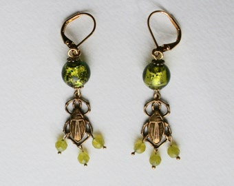 Beetle Bug Earrings