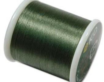 KO Thread Dk Olive #KO528 55 yards per spool