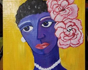 Them There Eyes. Billie Holiday portrait