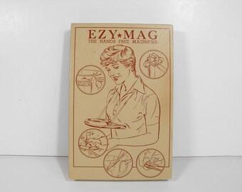Vtg Hands-Free Magnifier Ezy-Mag   (1190)