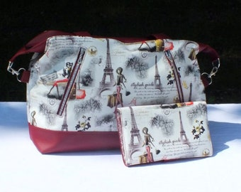 Java bag and wallet leather accessory