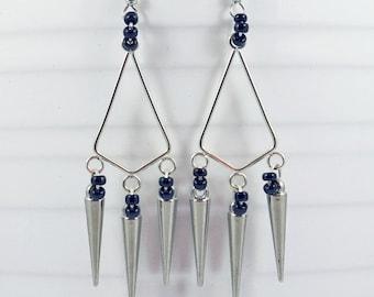 Long Spike Earrings