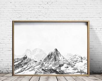 Mountain Art Etsy