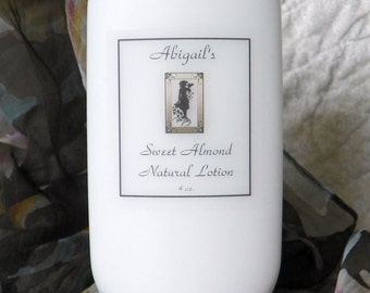 4 oz. Sweet Almond Handmade Natural Lotion by Abigail's on Main