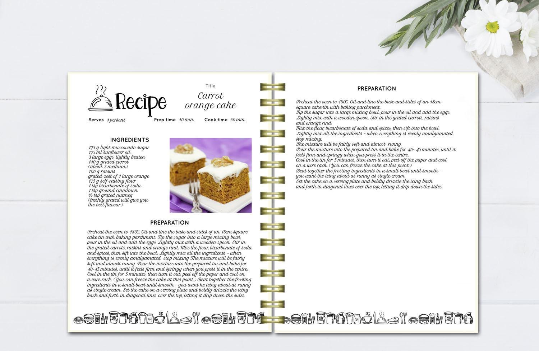 recipe book format korest jovenesambientecas co