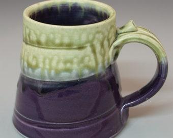 Purple and  Green Mug