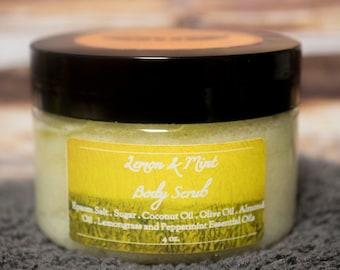 Lemon & Mint Body Scrub