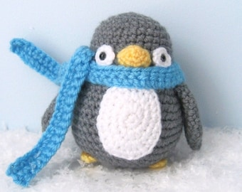 Amigurumi Crochet Penguin Pattern Digital Download