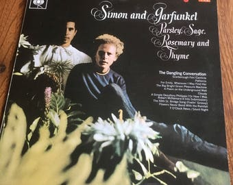 Parsley Sage Rosemary And Thyme SBPG62860 1966 Vinyl Lp CBs Made in England