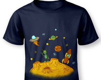 Alien Planet baby t-shirt