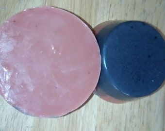 Activated Charcoal & Rose Clay soap