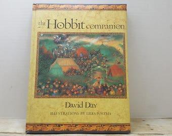 The Hobbit Companion, 1997, David Day, Lidia Postma, vintage book