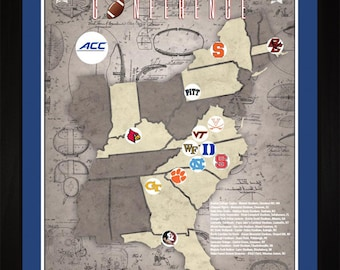 Mid-American Conference College Football Stadiums Teams