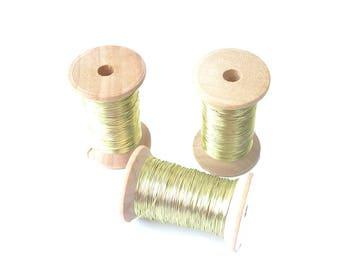 Champagne copper wire 0.315mm