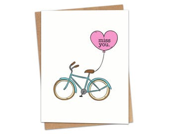 Miss You Greeting Card SKU C212