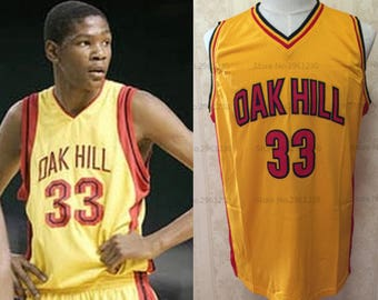 baff497a1bd1 Kevin Durant High School Jersey Oak Hill KD Basketball OKC Golden State  Warriors Oklahoma City Thunder