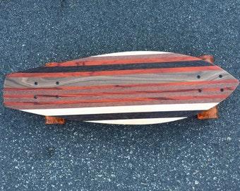 "Skateboard - Various Woods and Kicktail - ""Natadola"""