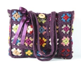 Crochet shoulderbag Ariana