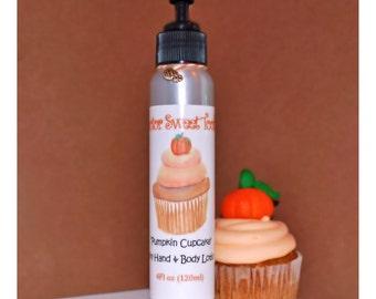 Pumpkin Cupcake Hand & Body Lotion (Paraben Free)