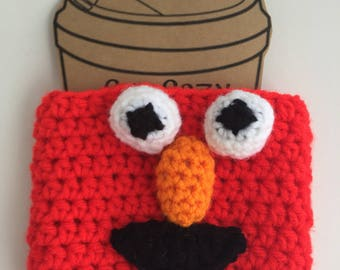 Red Monster Coffee Cozy