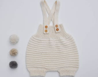 LEON - Bloomer wool and cotton, hand knitted